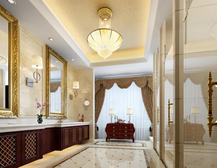 kleiderschranksystem-offen-grosser-spiegel-ist-ein-muss-im-ankleidezimmer-schoene-gestaltungsidee-lampe-beleuchtung