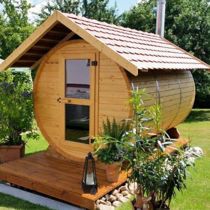 sauna f r den garten gartensauna kaufen sauna blockhaus cube f r den garten eine sauna f r den. Black Bedroom Furniture Sets. Home Design Ideas