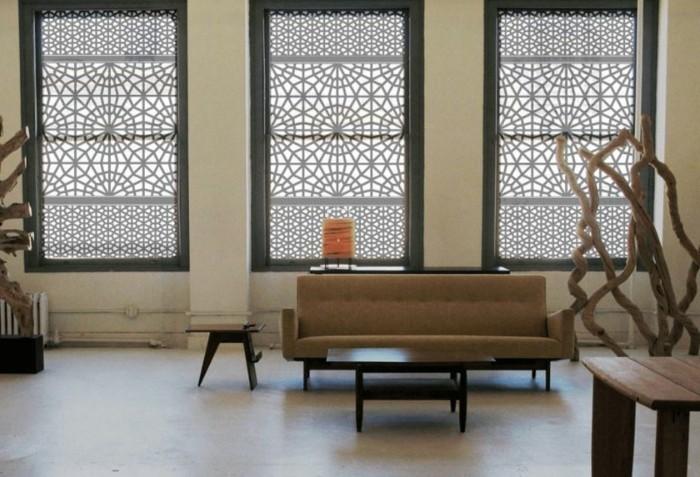 moderne-fensterdeko-ideen-für-das-wohnzimmer