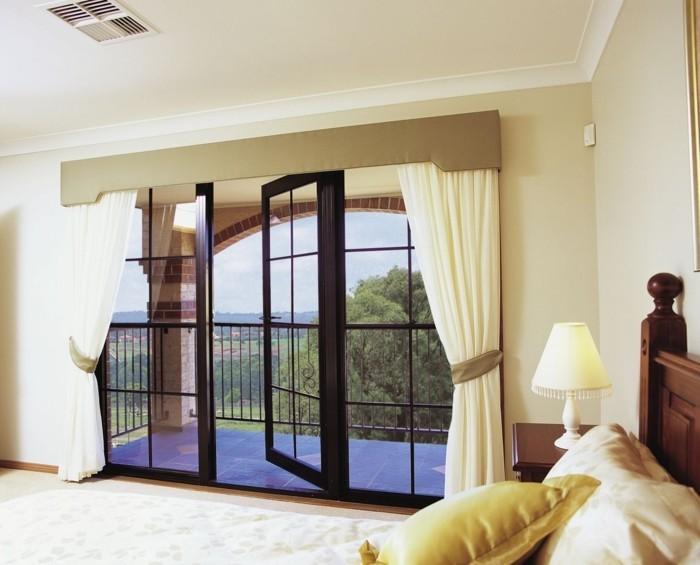 moderne-schlafzimmer-gardinen-mit-gardinen