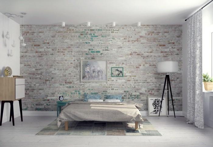 benz24.de-natursteinnachbildung-wandgestaltung-schlafzimmer-helle-einrichtung