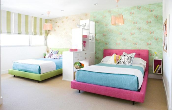 kinderzimmer einrichten tolle ideen zum thema kinderzimmer f r zwei. Black Bedroom Furniture Sets. Home Design Ideas