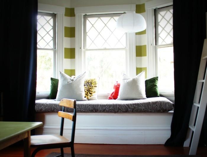 moderne fensterdeko f r eine vornehme atmosph re im raum. Black Bedroom Furniture Sets. Home Design Ideas