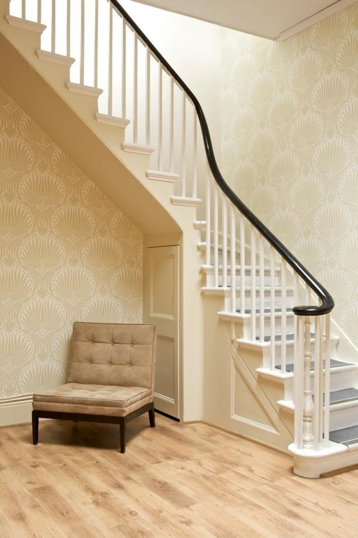 super tapeten flur ideen die sie bestimmt inspirieren. Black Bedroom Furniture Sets. Home Design Ideas
