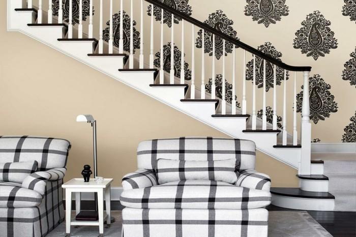 1001 tapeten flur ideen zum erstaunen und begeistern. Black Bedroom Furniture Sets. Home Design Ideas