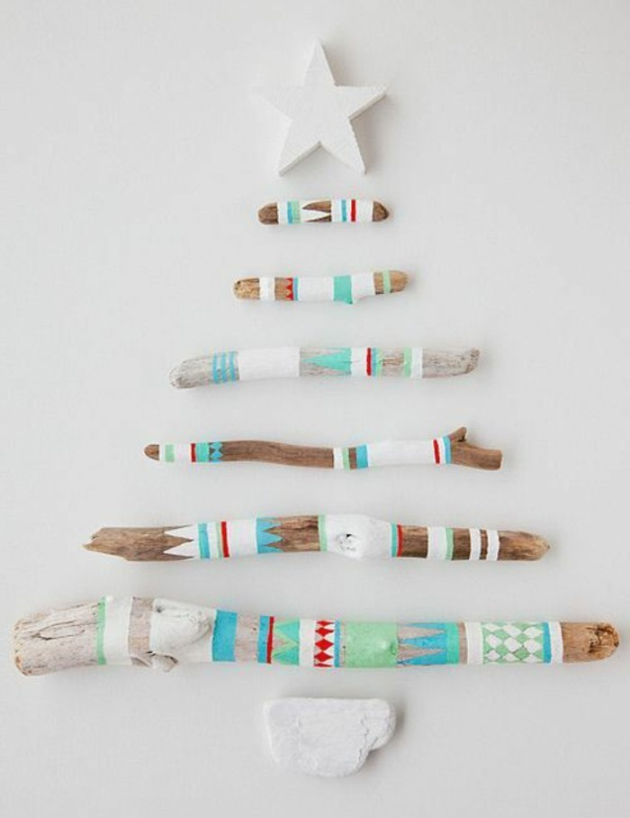 treibholz-deko-weisser-stern-ast-bemalen-weihanchtsbaum-weihnachten
