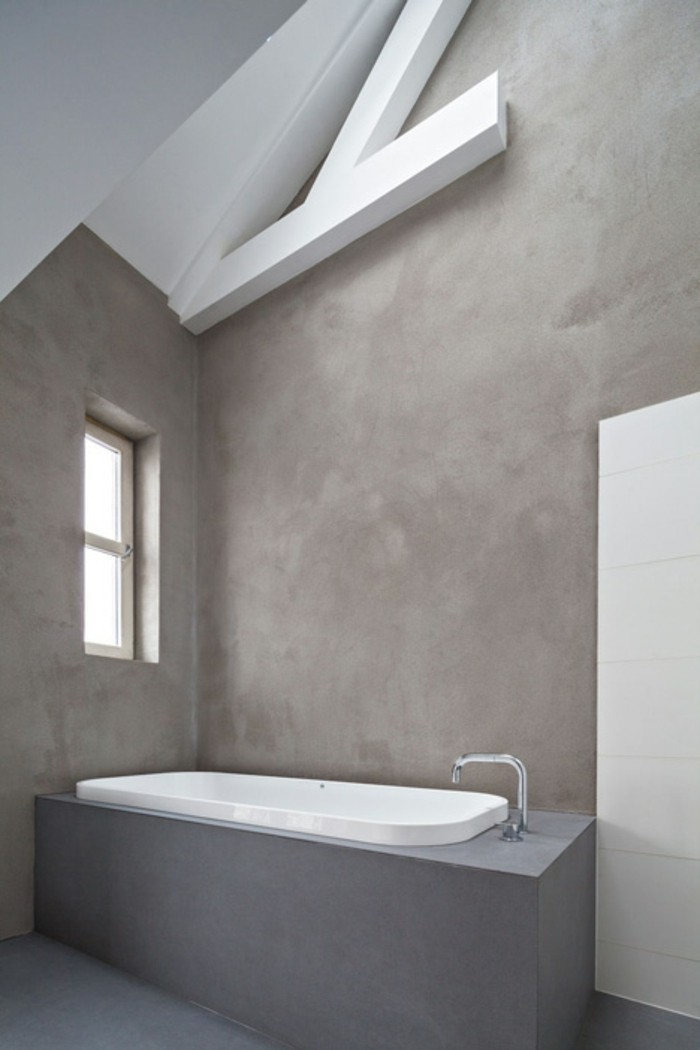 wandgestaltung-bad-ohne-fliesen-mit-grauen-wänden
