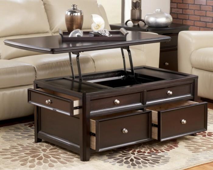 Kreative Wohnideen Wohnideen Wohnzimmer Ausziehbarer Tisch Massivholz Tisch
