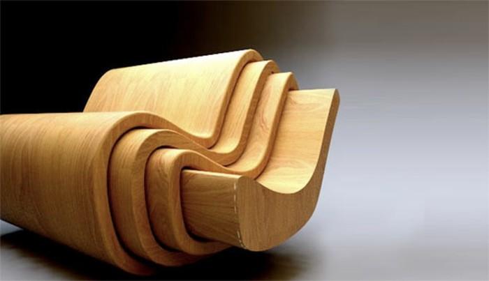 wohnungseinrichtungen-sessel-holz-holzstuhl-set-vier-stühle
