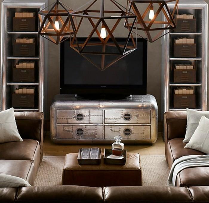Industrial Möbel faszinieren mit authentischem Design - Archzine.net