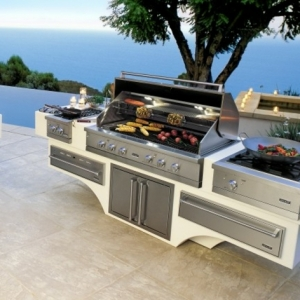 Outdoor Grillküche - erleben Sie die Sommerfreude