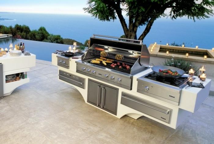 Gemauerte Sommerküchen : ▷ 1001 ideen für outdoor grillküche mit modernem design