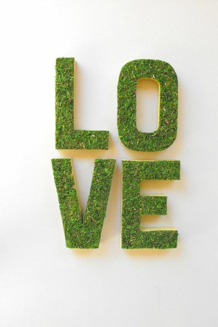 Deko-mit-moos-für-valentinestag-mit-dem-wort-liebe