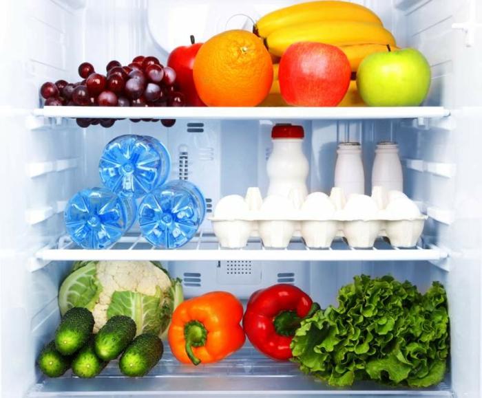 Nahrungsmittel im Kühlschrank Obst Gemüse richtig lagern