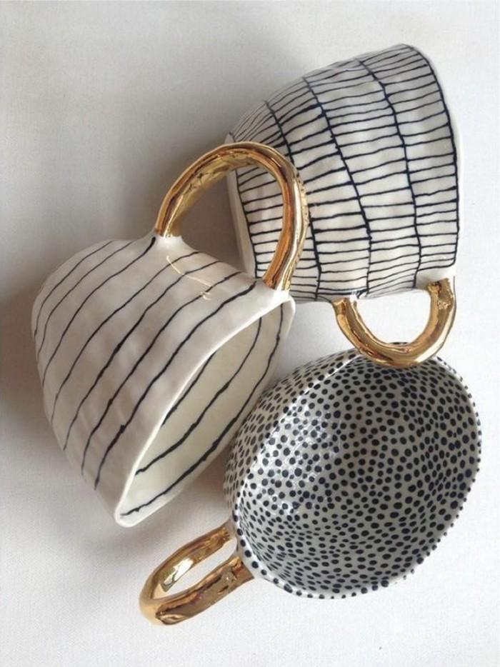 Tassen-bemalen-drei-tassen-mit-verschiedenen-muster-streifen-und-punkte
