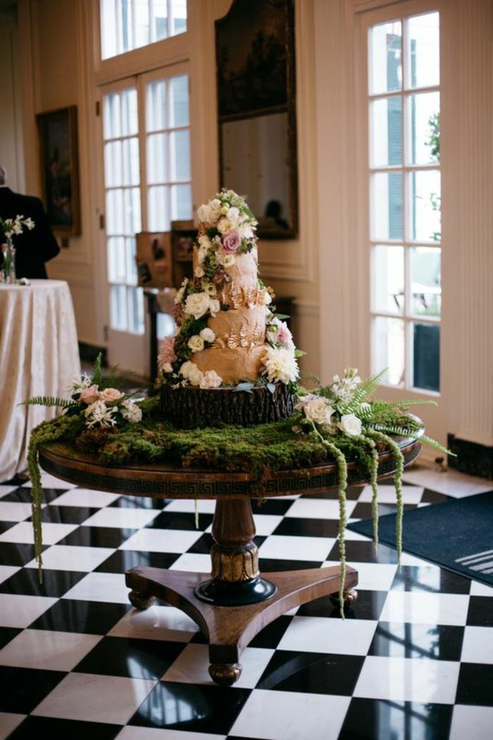 außergewöhnliche-deko-rustikale-deko-für-die-hochzeit-um-die-torte