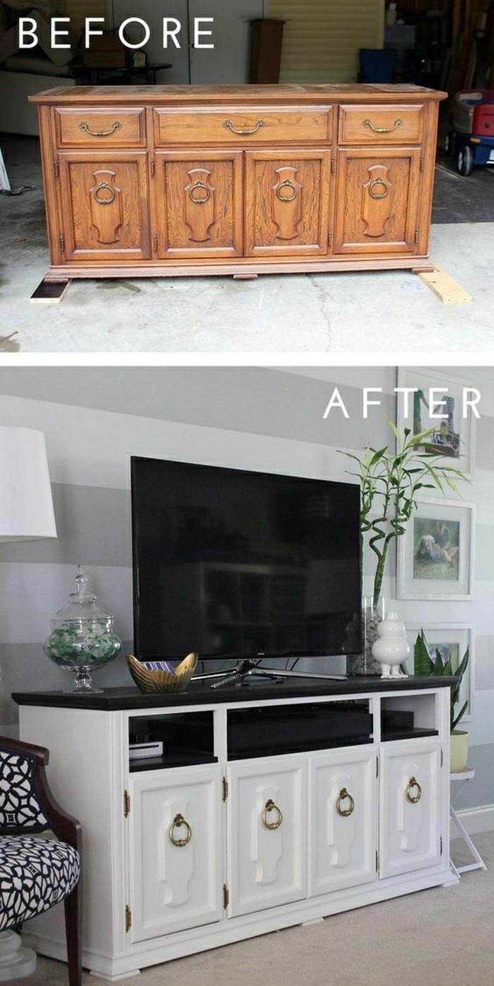 aus-alt-neu-machen-alter-schrank-in-weiß-bemalen-fernseher-bilder-diy-stuhl