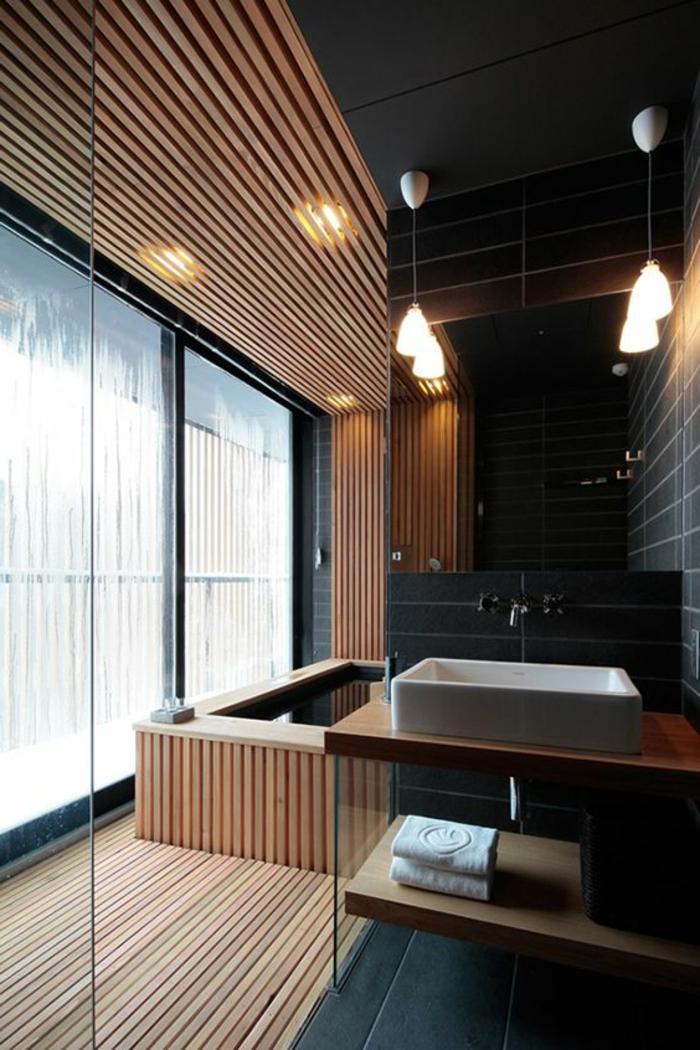 1001 ideen f r ein stilvolles und modernes traumbad for Fenster lampen