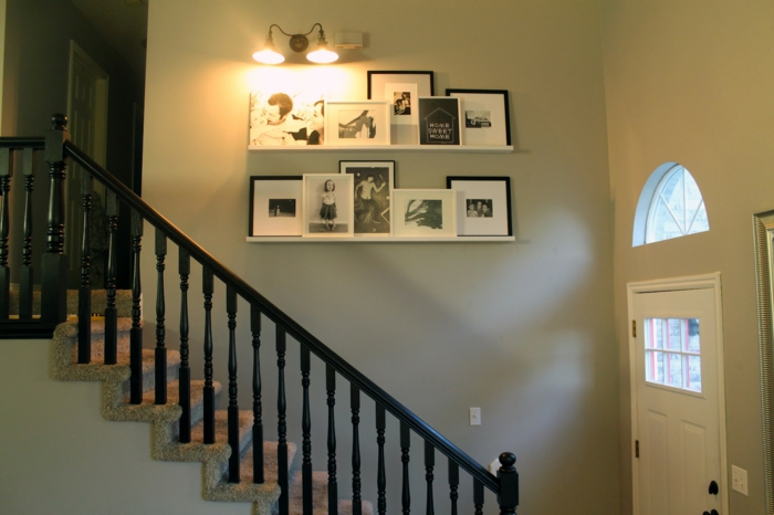 1001 ideen f r bilderleiste dekorieren f r fr hliches ambiente. Black Bedroom Furniture Sets. Home Design Ideas
