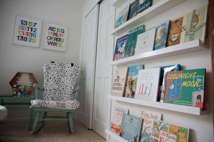 die ersten Bücher von einem Kind zur Ausstellung