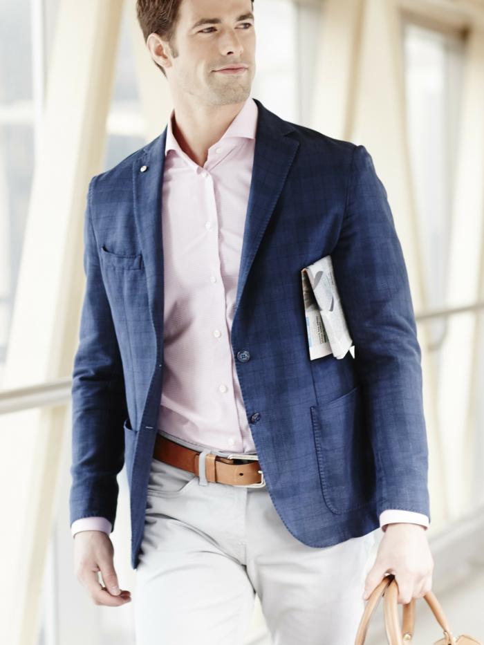 elegant und casual zum flughafen fahren flug fliegen business klasse moderne männer