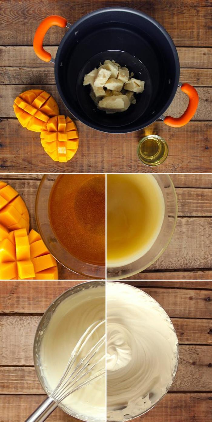 Handcreme mit Mango, Sheabutter und Honig