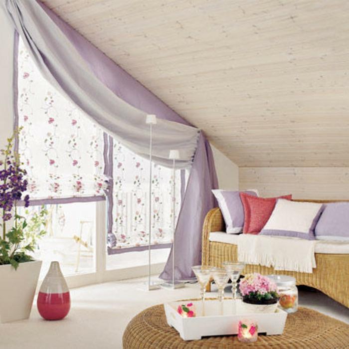Gardinen F R Schr Ge Fenster charmant fenster dachschräge vorhang zeitgenössisch die besten wohnideen kinjolas com