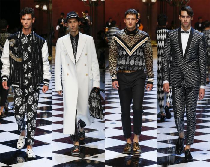 business casual mode podium fashion show keinen beispiel an diesen männern nehmen