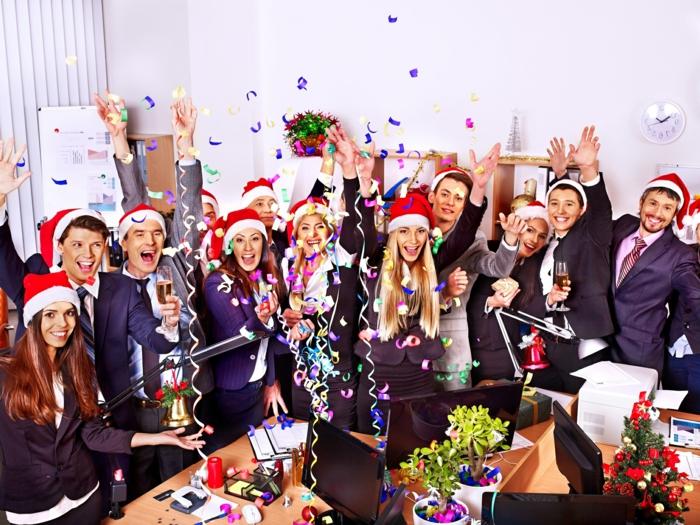 dresscode weihnachtsparty weihnachten ideen zum feiern in dem büro kollektiv team teambuilding