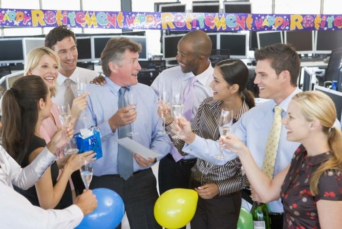 dresscode business casual party für einen kollegen der in die rente geht tolle anlässe zum feiern