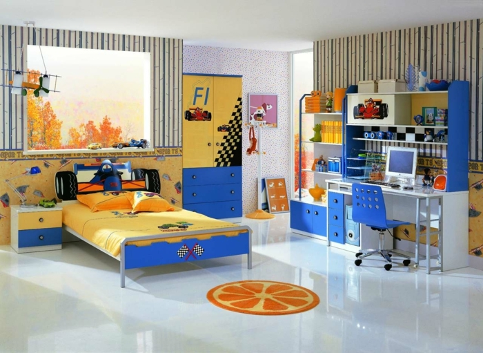 1001 ideen f r kinderzimmer junge einrichtungsideen. Black Bedroom Furniture Sets. Home Design Ideas