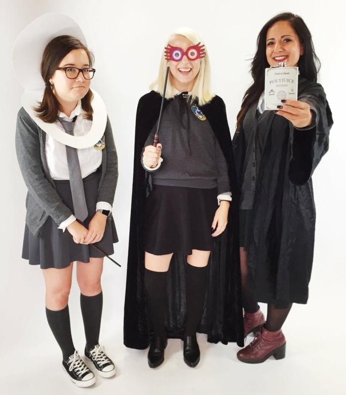 Gruppenkostüme Ideen für Jugendliche - Harry Potter Generation