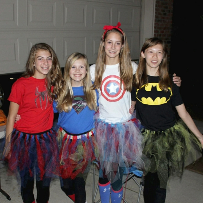 DIY Gruppenkostüme Ideen für Mädchen - Kostüme selber nähen