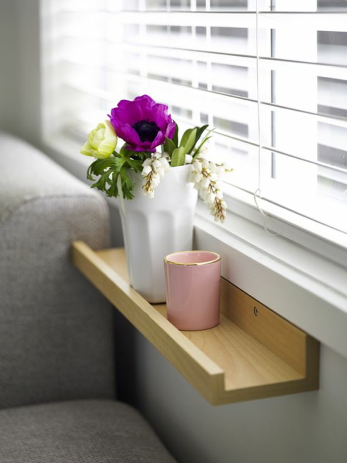 1001 tolle ideen f r fensterbank aus holz in ihrem zuhause. Black Bedroom Furniture Sets. Home Design Ideas