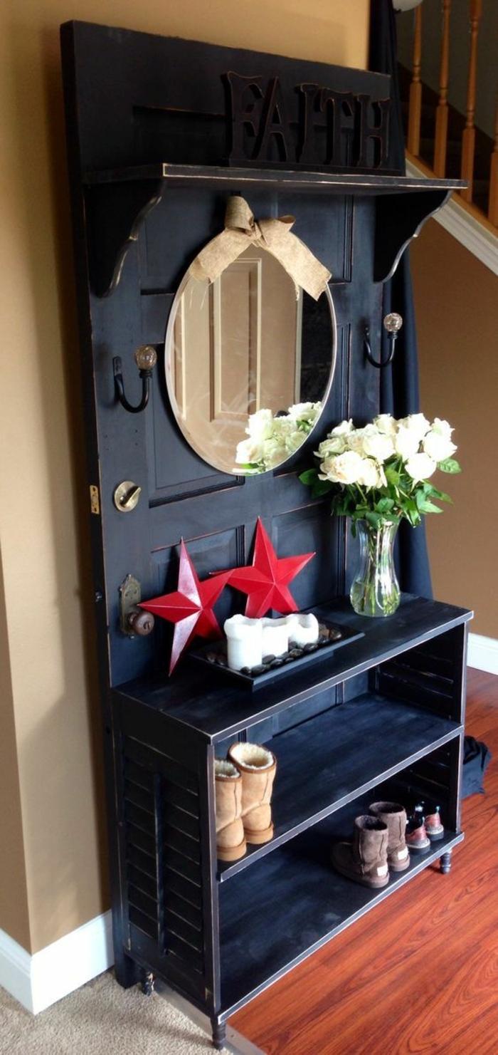 Alte Tür Als Garderobe 1001 ideen für alte türen dekorieren deko zum erstaunen