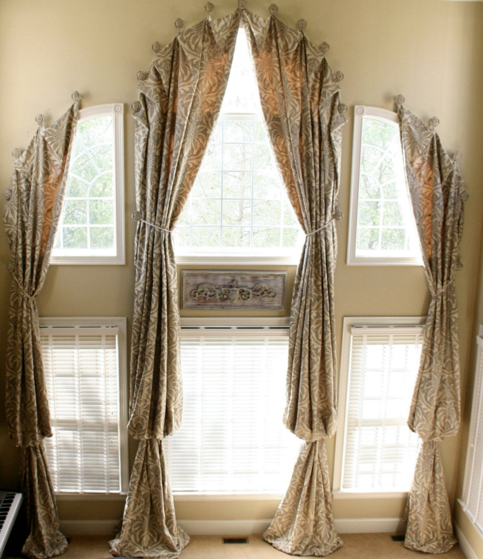 moderne gardinenvorhange eindrucksvollem effekt, ▷ 1001+ ideen für dachfenster gardinen und vorhänge, Design ideen