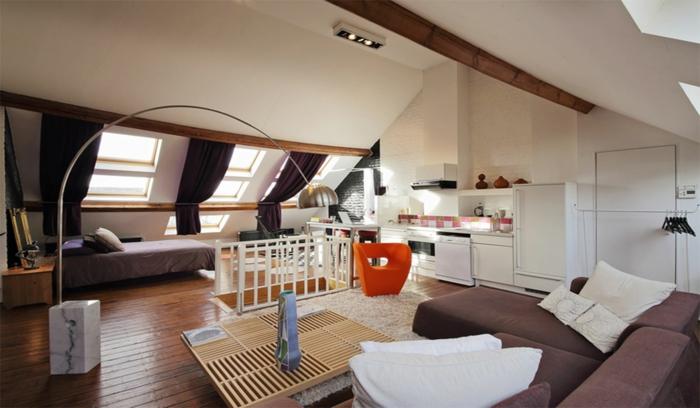 home office mit dachfenster ideen bilder, ▷ 1001+ ideen für dachfenster gardinen und vorhänge, Design ideen
