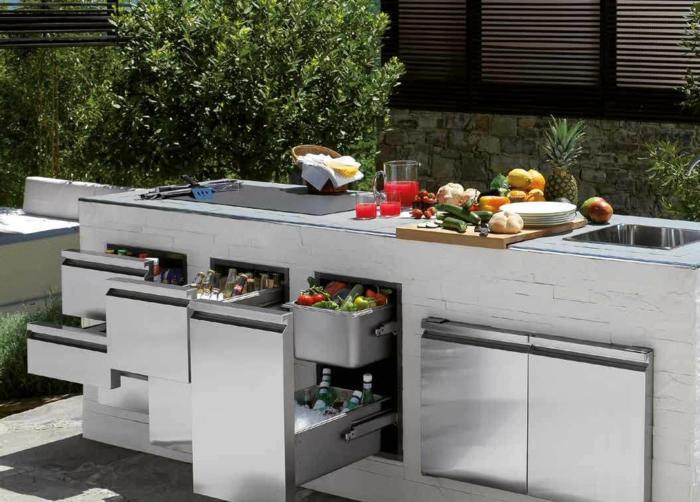 die gute Organisation in der Küche ist der Geheimnis vom guten Essen