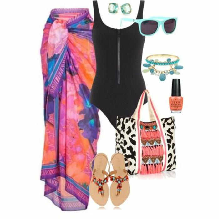 dresscode casual bei dem pool schwimmpool flip flops badeanzug brille lack schall