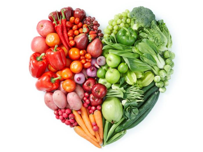 gesunde ernährung sorgt für den guten blutkreislauf obst und gemüse essen