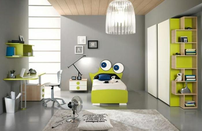 Farbe Gruen Akzent Einrichtung Gestalten | Möbelideen