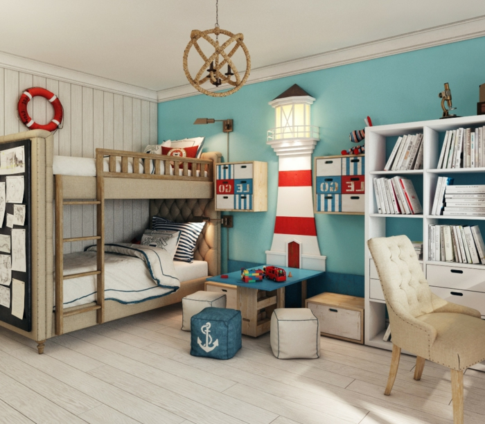 ideen kinderzimmer junge. Black Bedroom Furniture Sets. Home Design Ideas