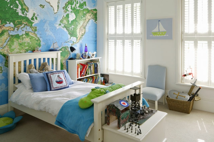 kinderzimmer junge deko dekoration bild idee. Black Bedroom Furniture Sets. Home Design Ideas