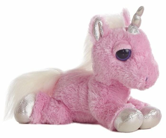 kuscheliges-einhorn-pink