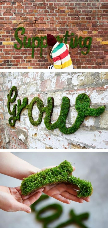 coole Moos Graffiti verschönern die Stadt