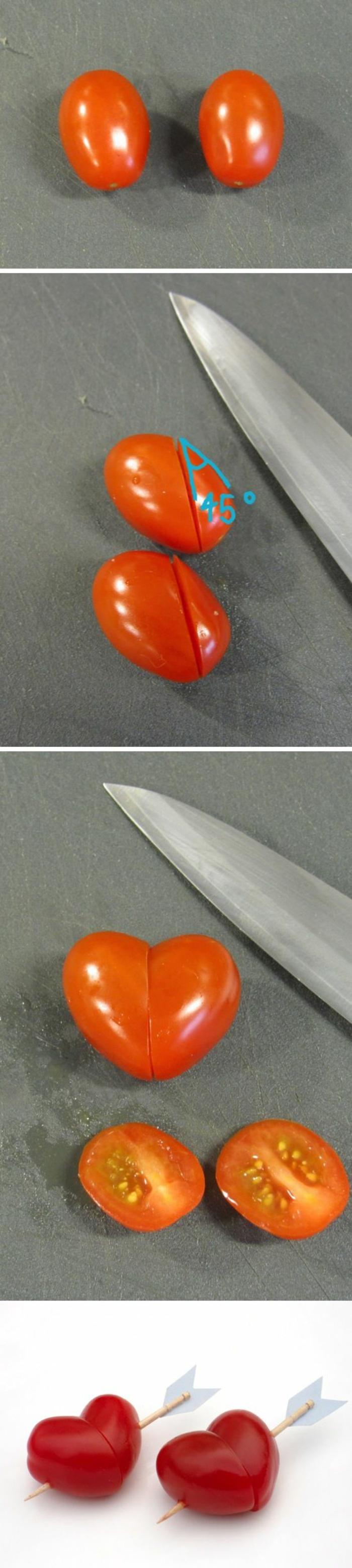 eine tolle Idee zur Teller-Dekoration