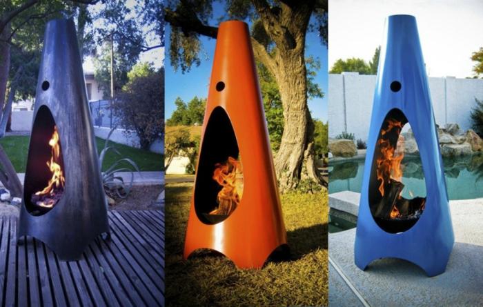 offene feuerstellen fur den garten, ▷ 1001+ ideen zum thema offener kamin/ gemauerter kamin, Design ideen