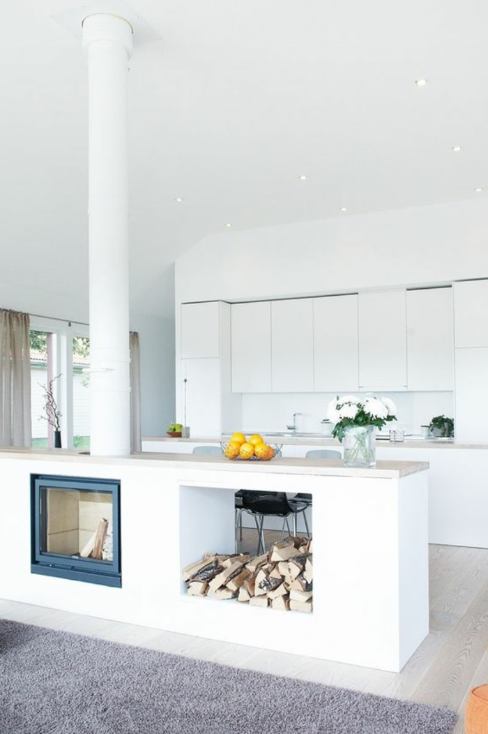 Küche Gemauert Bilder 1001 ideen zum thema offene küche trennen