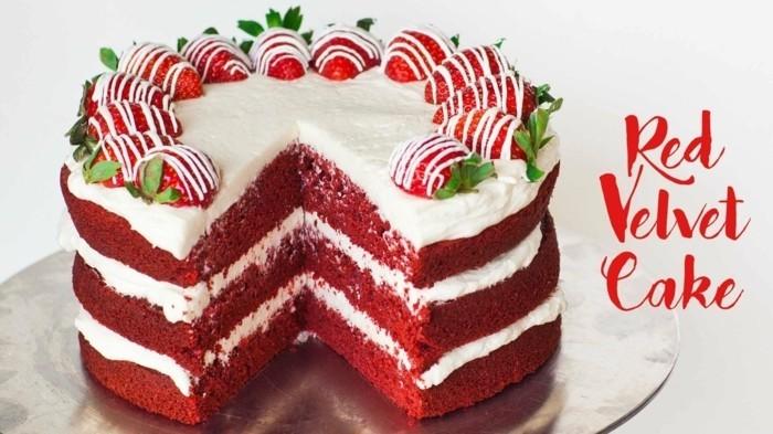 red-velvet-cake-rezept-roter-samt-kuchen-mit-erdbeeren-sahne-torte-superlecker-geburtstag-hochzeit