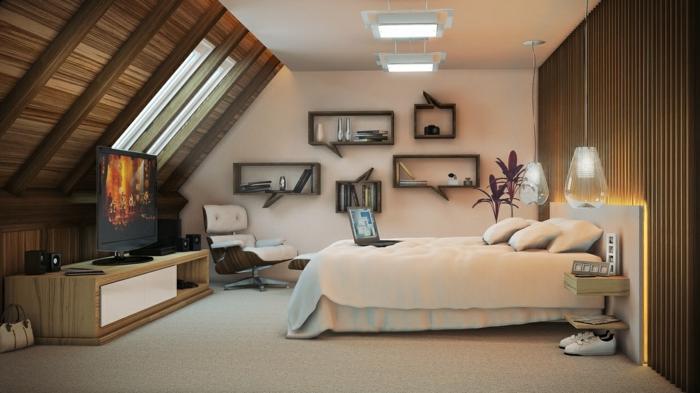 schlafzimmergestaltung wohnideen f r ein modernes. Black Bedroom Furniture Sets. Home Design Ideas